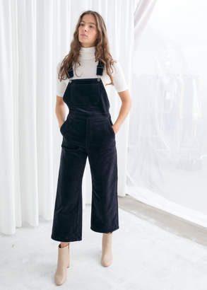 And other stories Wide Corduroy Overalls
