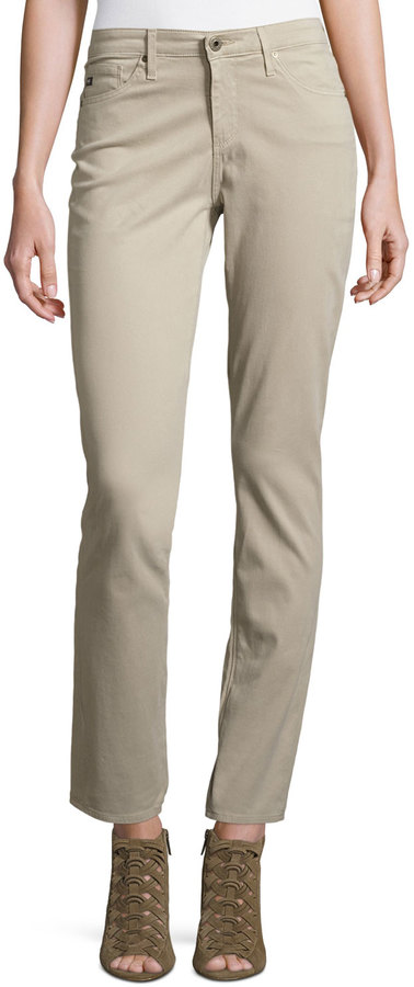 AG Jeans AG The Prima Skinny Pants, Khaki