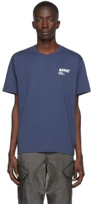 AFFIX Navy Basic T-Shirt