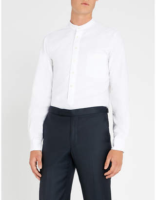 Richard James Marcella mandarin-collar classic-fit cotton shirt