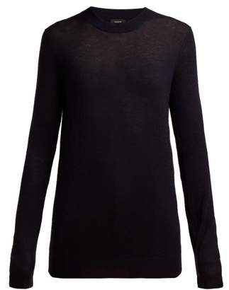 Joseph Cashair Cashmere Sweater - Womens - Navy