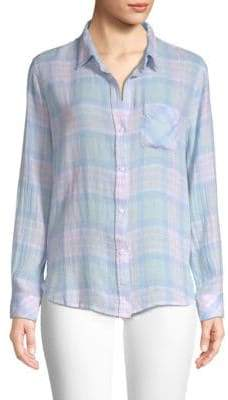 Rails Charli Plaid Button-Down Shirt