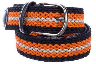 Barneys New York Barney's New York Woven Elasticized Belt w/ Tags