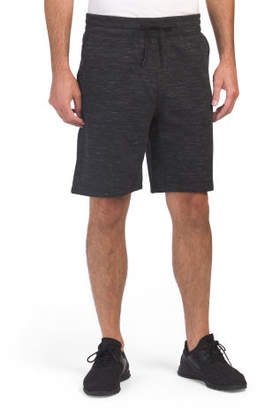 Leisure Shorts With Bonded Zipper