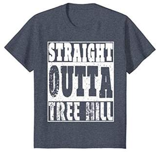 Straight Outta Tree Hill T-Shirt Cool Gift For Birthday