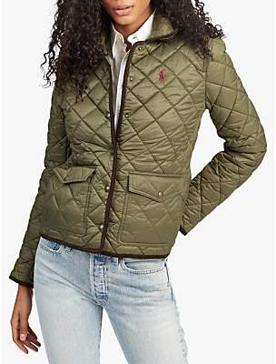 03debfe1c Ralph Lauren Polo Quilted Jacket, Expedition Olive