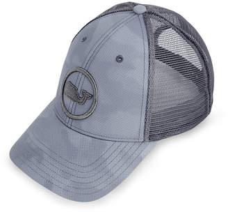 54e47d8cbb3f3 ... Vineyard Vines Embroidered Whale Dot Performance Camo Trucker Hat