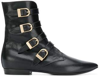 Philosophy di Lorenzo Serafini side buckle boots