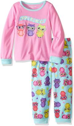 Komar Kids Girls' Big Girls' Owl 2pc Set