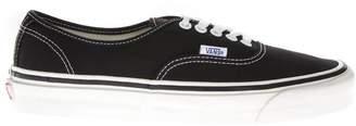 Vans Anaheim Factory Authentic 44 Black Textile Sneakers