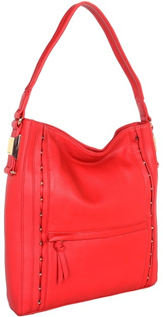 Vince Camuto Ila 2 Hobo (True Red) - Bags and Luggage