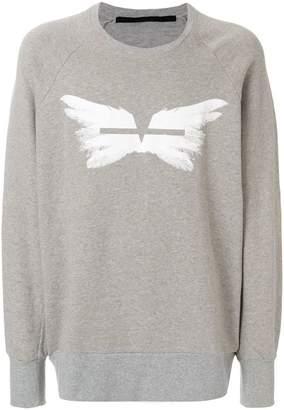 Julius wing print sweater