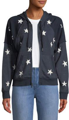 Splendid Liberty Star-Print Hooded Jacket