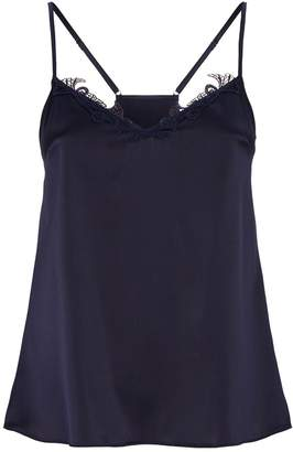 Fleur of England Silk Embroidered Camisole