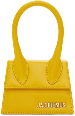 Jacquemus Yellow Le Chiquito Clutch