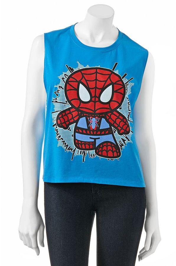 Freeze spiderman sleeveless tee - juniors