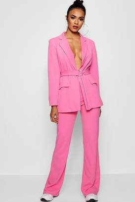 boohoo Tailored Flared Trouser