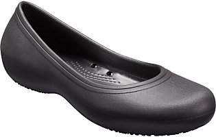 Crocs Slip On Shoes - Kadee II Work Flat