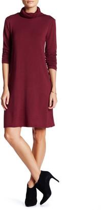 Kensie Turtleneck Shift Dress $88 thestylecure.com