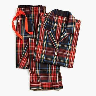 J.Crew Vintage pajama set in Stewart black tartan
