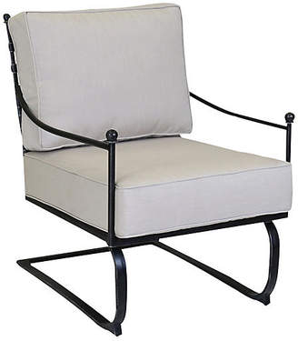One Kings Lane Provence Outdoor Rocker - Rich Pewter