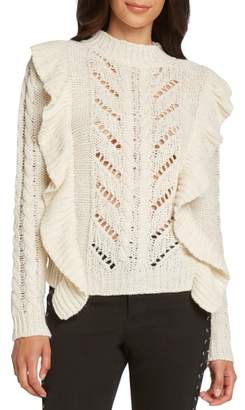 Willow & Clay Ruffle Detail Sweater