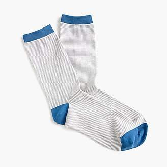 J.Crew Trouser socks in colorblock