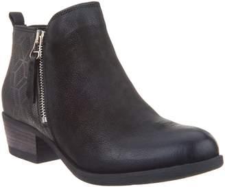 Miz Mooz Leather Zip Ankle Boots - Betty