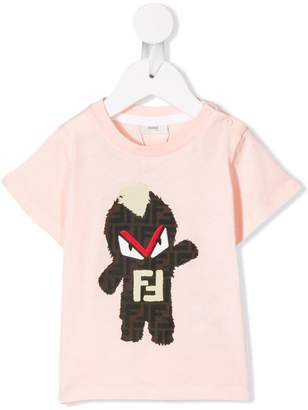 Fendi graphic logo print T-shirt