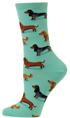 Hot Sox Dachshunds Printed Socks $6 thestylecure.com