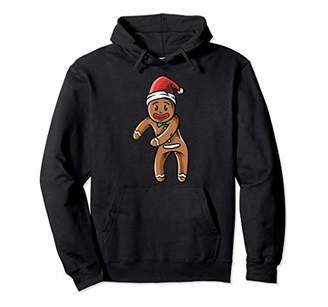 Gingerbread Man Hoodie - Funny Christmas Sweater Gift Women