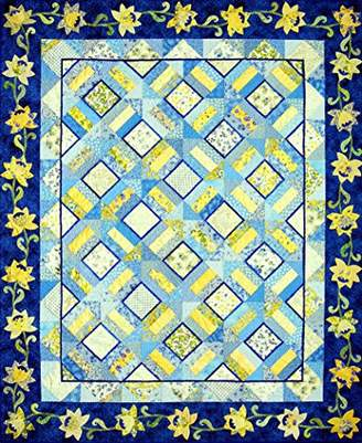Happy Stash Quilts Waves of Sunshine Quilt Pattern