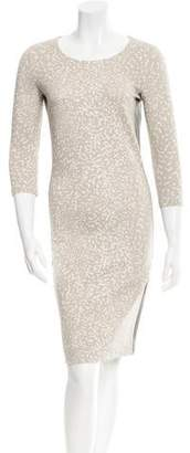 Narciso Rodriguez Patterned Bodycon Dress