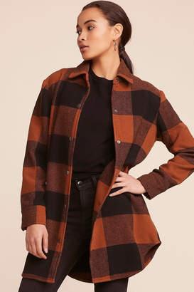 BB Dakota Eldridge Plaid Coat