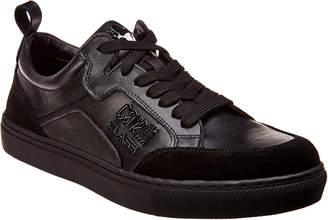 Roberto Cavalli Robert Cavalli Leather & Suede Sneaker