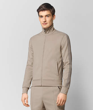 Bottega Veneta DARK CEMENT POLYESTER SWEATER