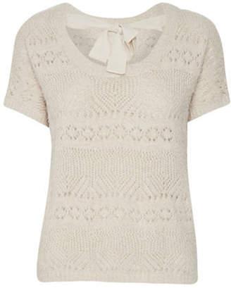 Cream Alcee Pullover
