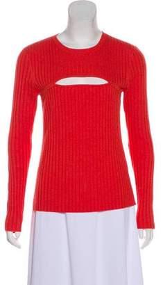 Frame Wool-Blend Long Sleeve Sweater