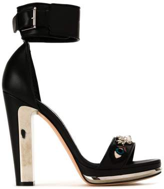 Alexander McQueen buckled sandals