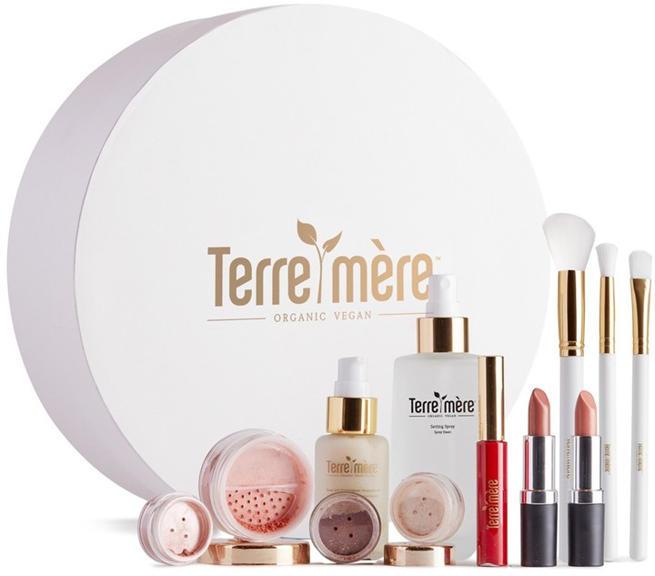 Terre Mere Holiday Favorite Beauty Gift Box 12-Piece Set