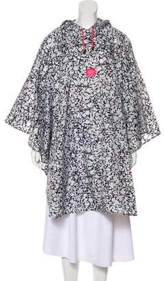 Joules Oversized Printed Poncho