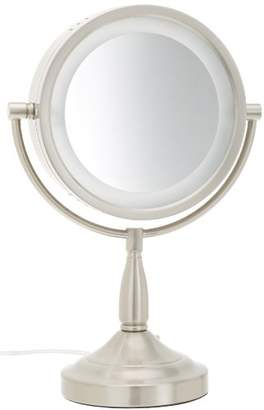 Jerdon LT856N 8.5-Inch Lighted Vanity Mirror with 7x Magnification