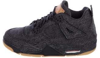 Nike Jordan x Levis 2018 4 Retro NRG Sneakers w/ Tags