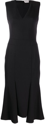 Alexander McQueen pleated hem dress