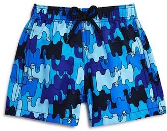 Vilebrequin Boys' Jam Camels Swim Trunks - Sizes 10-14 $140 thestylecure.com