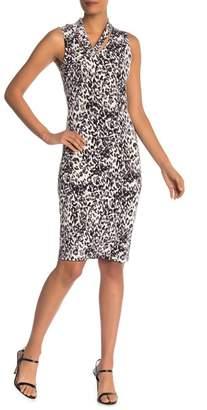 10c8c78a84 Rachel Roy Axel Leopard Print Sheath Dress