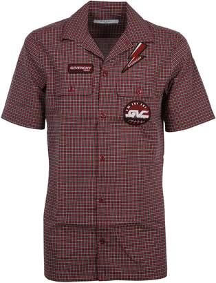 Givenchy Logo Patch Shirt