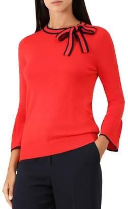 Hobbs London Jess Bow Detail Sweater