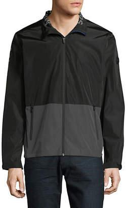 MICHAEL Michael Kors Two-Tone Logo Jacket