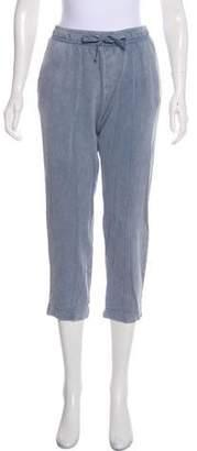 ATM Anthony Thomas Melillo Mid-Rise Straight Sweatpants